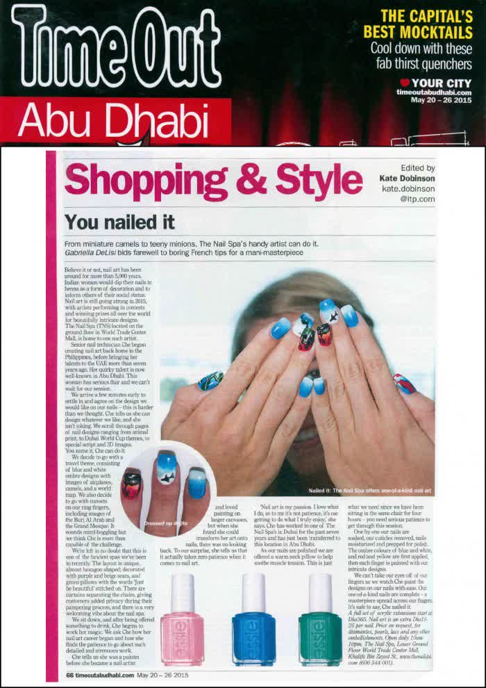TIME OUT ABU DHABI - The Nail Spa