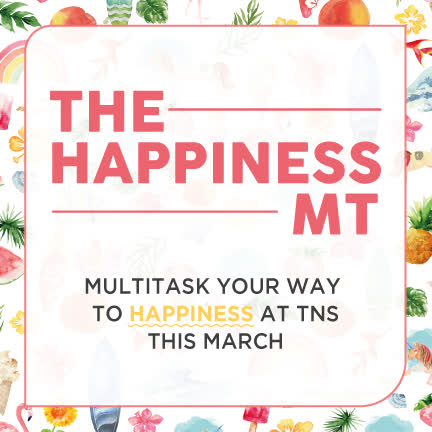 HAPPINESS MULTITASKER