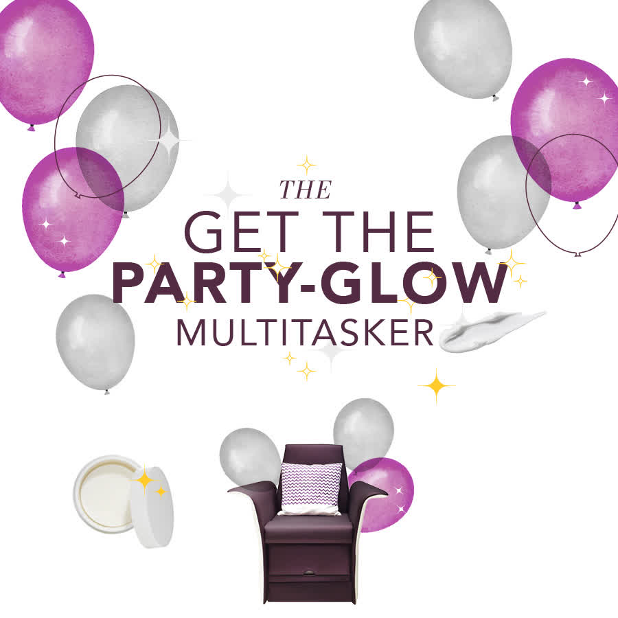THE GET THE PARTY GLOW MULTITASKER