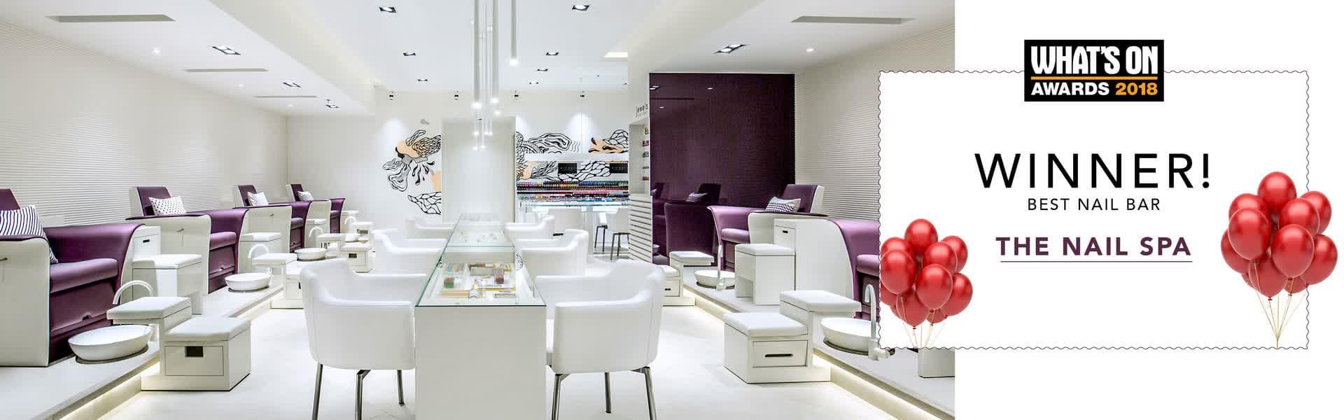The Nail Spa Nail Salon In Dubai